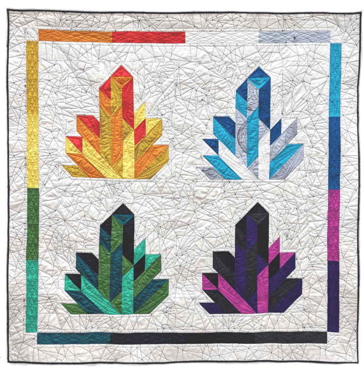 Crystalize quilt by geeky bobbin - redux by giucy giuce
