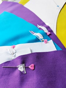 use labels to keep quilt blocks and pieces organized - geeky bobbin
