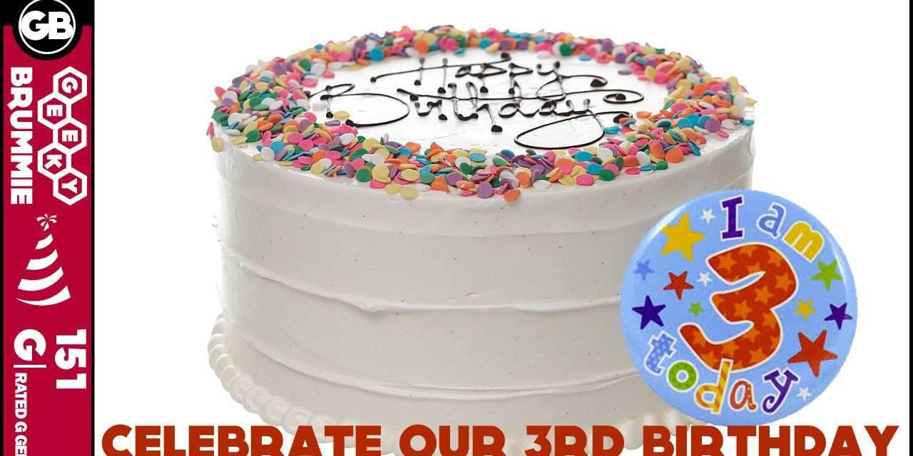 Now we are Three! – Happy Birthday Geeky Brummie