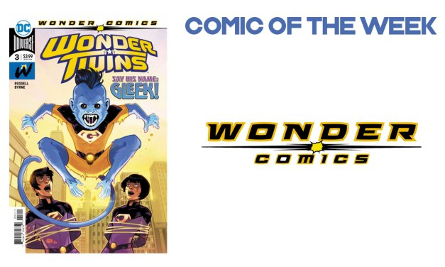 Wonder Twins #NCBD 10th April 2019