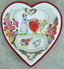 Victorian Heart Shaped Candy Box