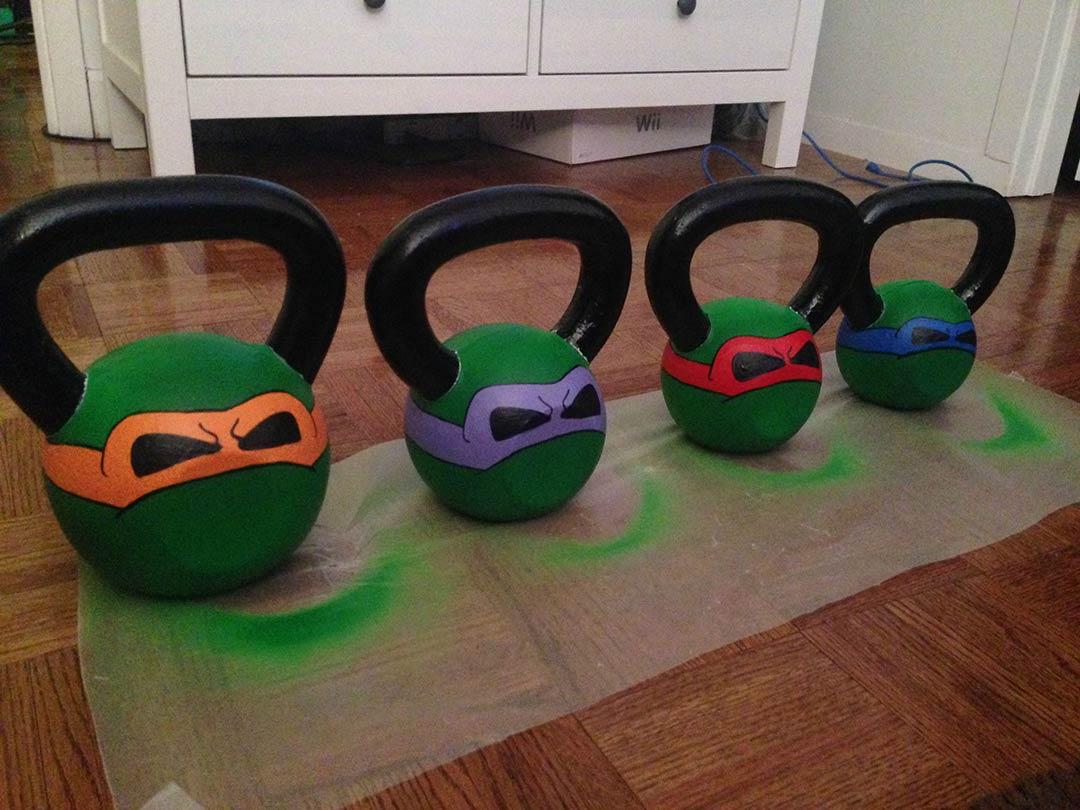 Image result for fitness kettlebell pumpkins