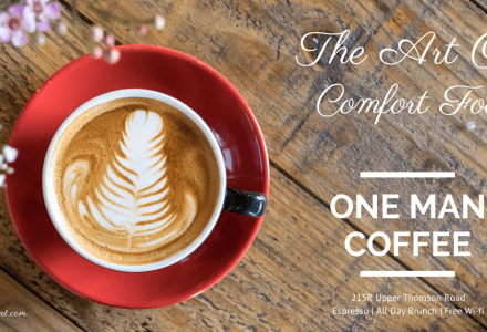 One Man Coffee: Comfort Food