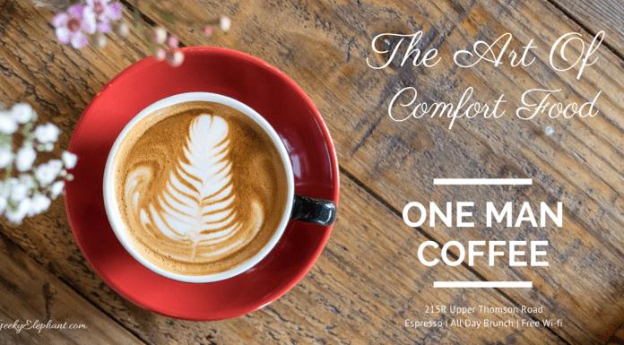 One Man Coffee: Comfort Food