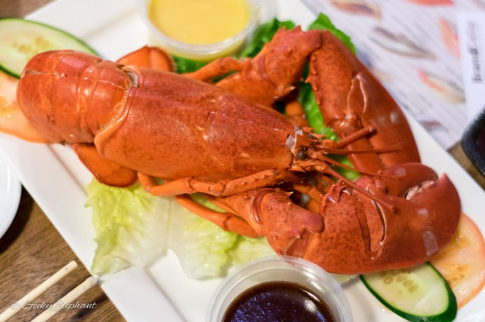 Oceans of Seafood: Boston Lobster