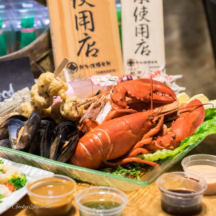 Oceans of Seafood: Christmas Seafood Platter