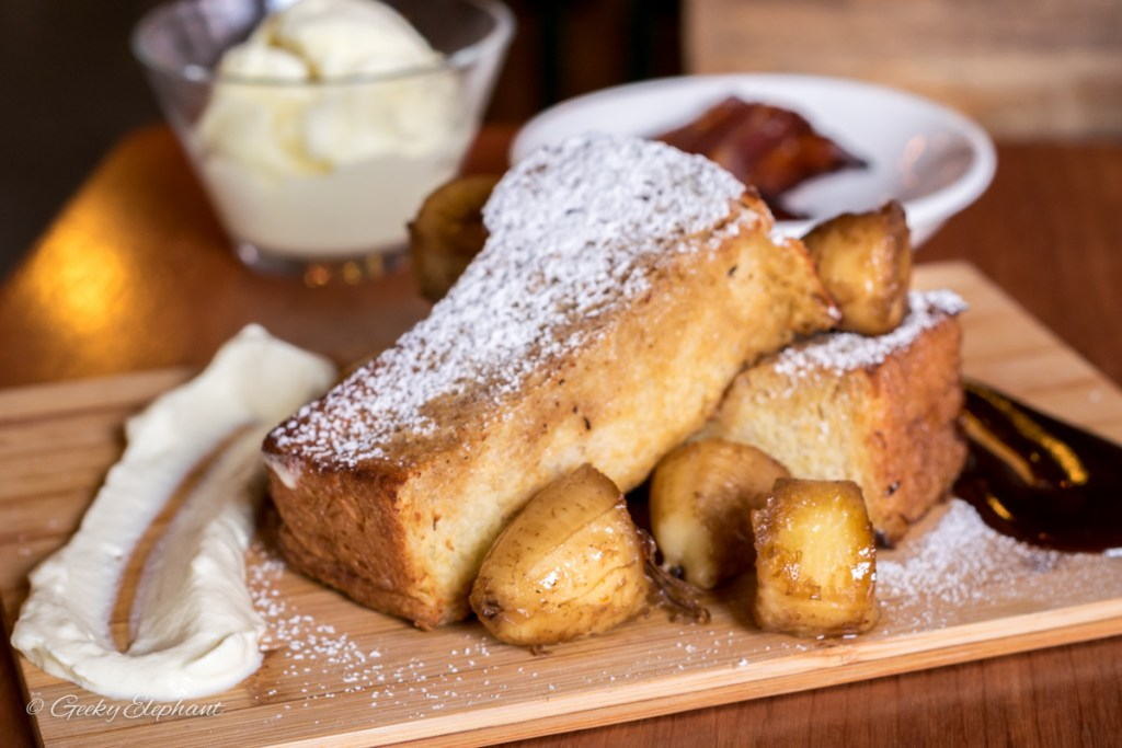 One Man Coffee: Brioche French Toast