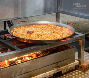 Savour 2015: UNA@Rochester—Seafood and Chicken Paella.