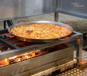 Savour 2015: UNA@Rochester—Seafood and Chicken Paella.