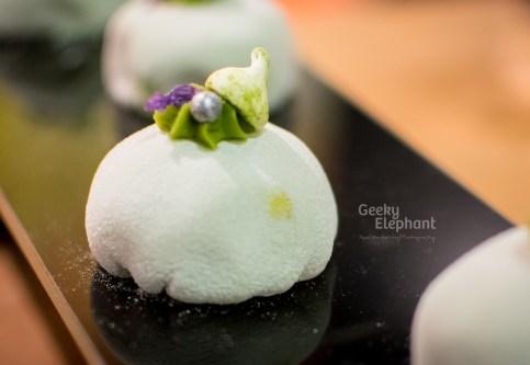 Savour 2015: Janice Wong Sweets—Matcha Mochi