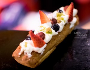 Savour 2015: Janice Wong Sweets—Fruits of the Forest Eclair