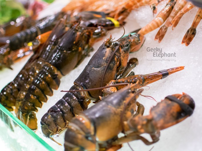 Savour 2015: Gourmet Food Hall—Boston Lobsters