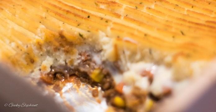 Cookup: Beef Shepard's Pie