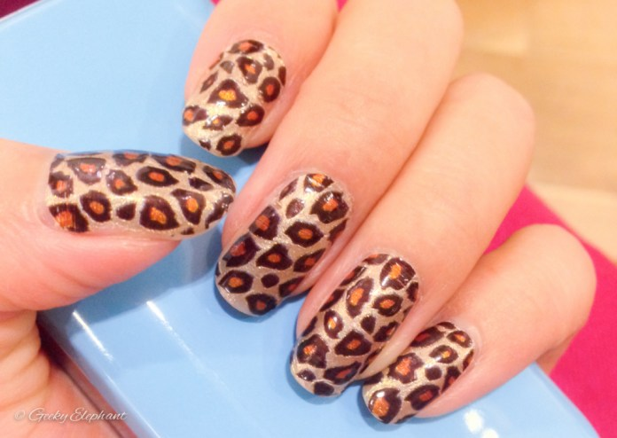 Sephora Nail Polish Strips: Leopard Print