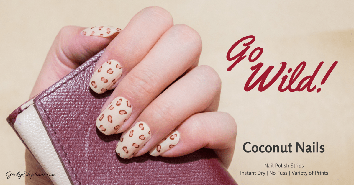 Coconut Nail Polish Strips: Instant manicure — Geeky Elephant
