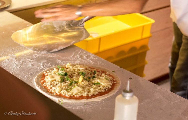 Ricciotti Pizza Pasta Grill: Fresh hand-made pizzas