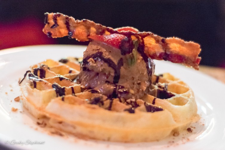 The Beast: Bacon Waffle Sundae