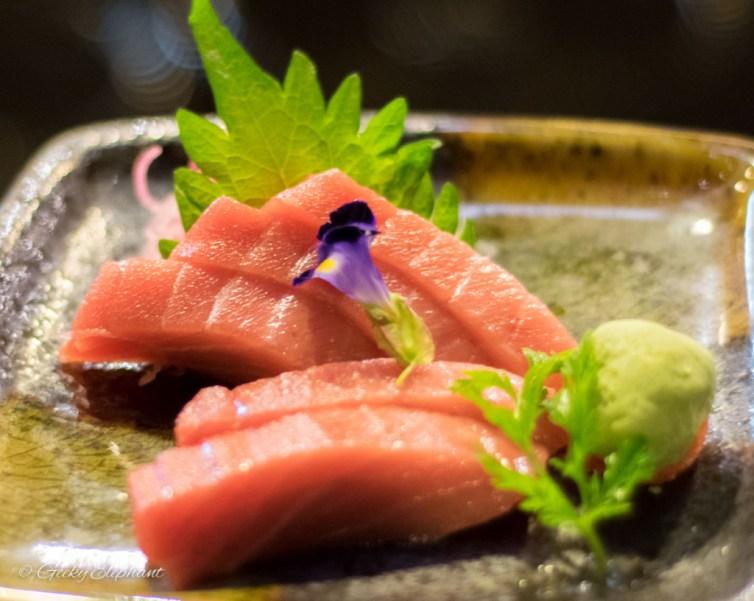 Oceans of Seafood: Chutoro Sashimi