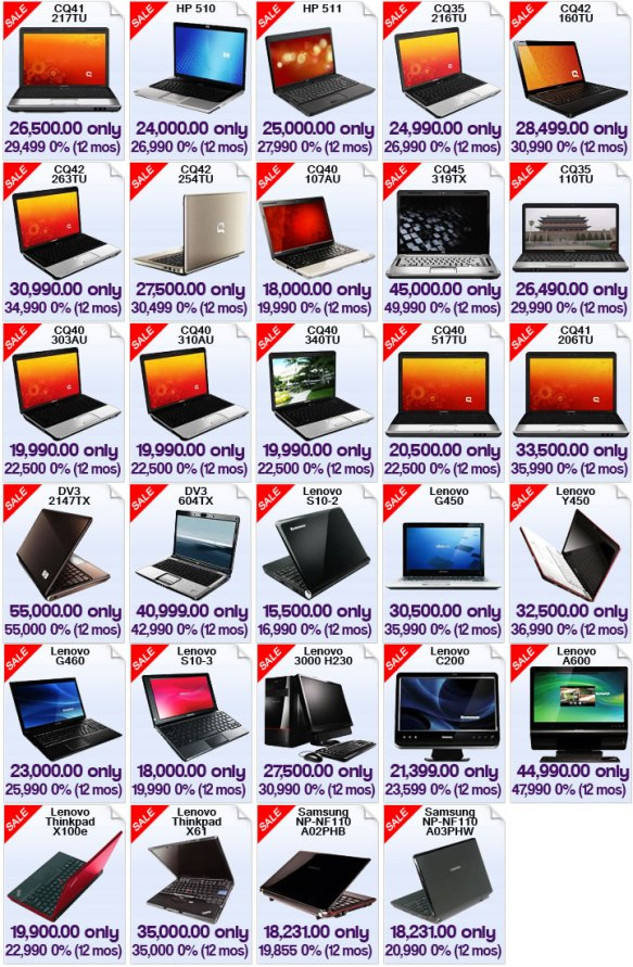 Nationwide Year End Laptop Sale