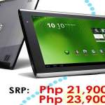 Acer Aconia Tab A500 Priced