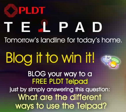 pldt telpad blog it win it