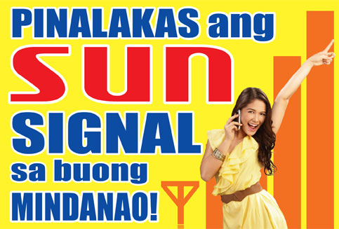 Pinalakas Sun Signal Sa Mindanao