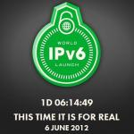 6 June 2012 is World IPv6 Launch