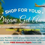 Shop for your Dream Getaway with Lazada Mobile App and Cebu Pacific Air