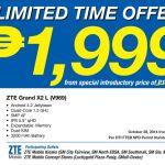 ZTE Grand X2 L V969 Sale at Limited Time Offer