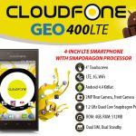 CloudFone GEO 400LTE available now at Globe PostPaid Plan 349