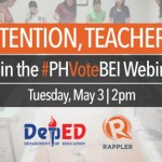Election training webinar for teachers and BEIs