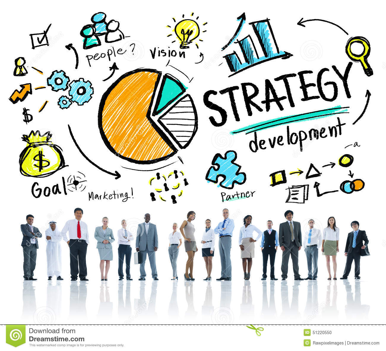 strategy-development-goal-marketing-vision-planning-business-concept-51220550