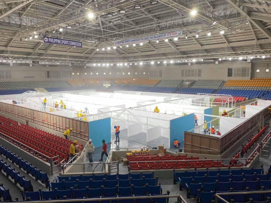 Rizal Memorial Coliseum: Quarantine Facilities Covid-19