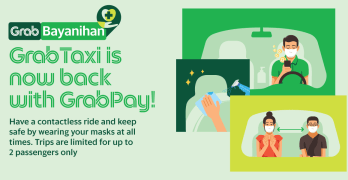 GrabTaxis Cashless Payments
