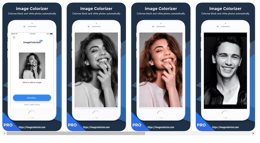 Image Colorizer App - Apple iOS Pro version