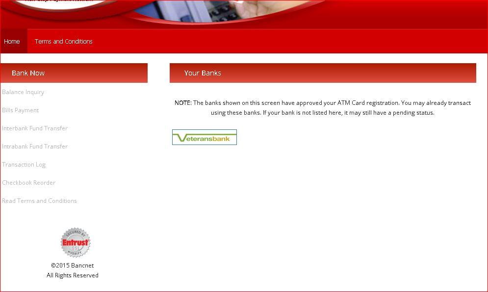 BancNet Dashboard
