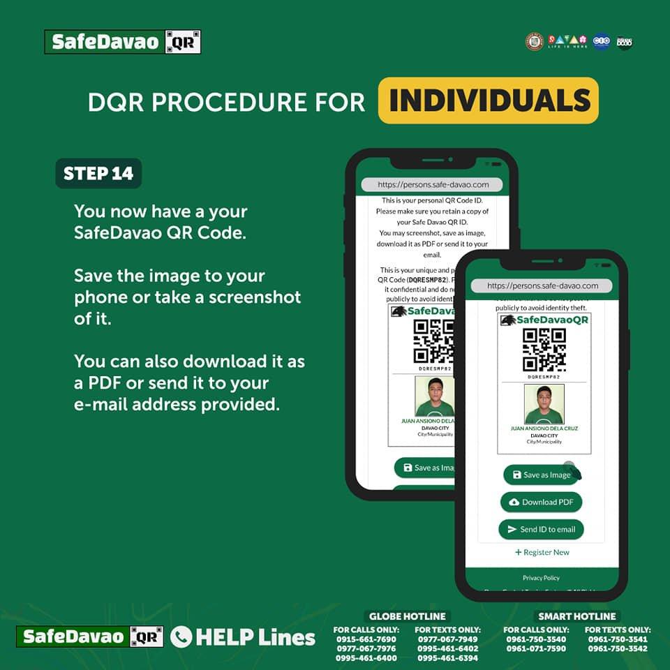 DQR Procedure Individuals Steps