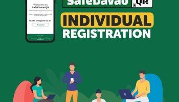 Safe Davao QR Individual Registration