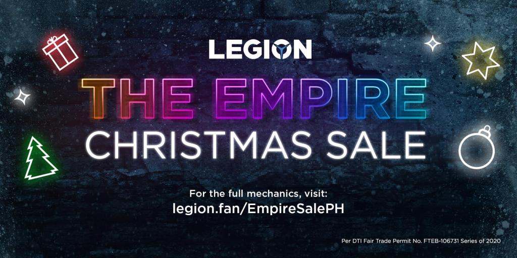 Gaming Gift Guide - The Legion Empire Christmas Sale