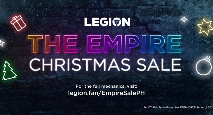 Legion Empire Christmas Sale 2020