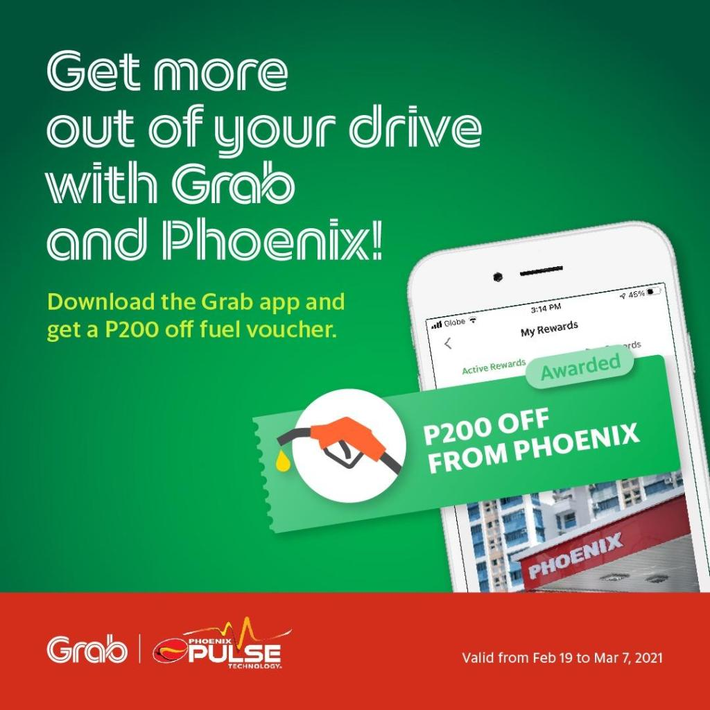 Grab and Phoenix Fuel Voucher