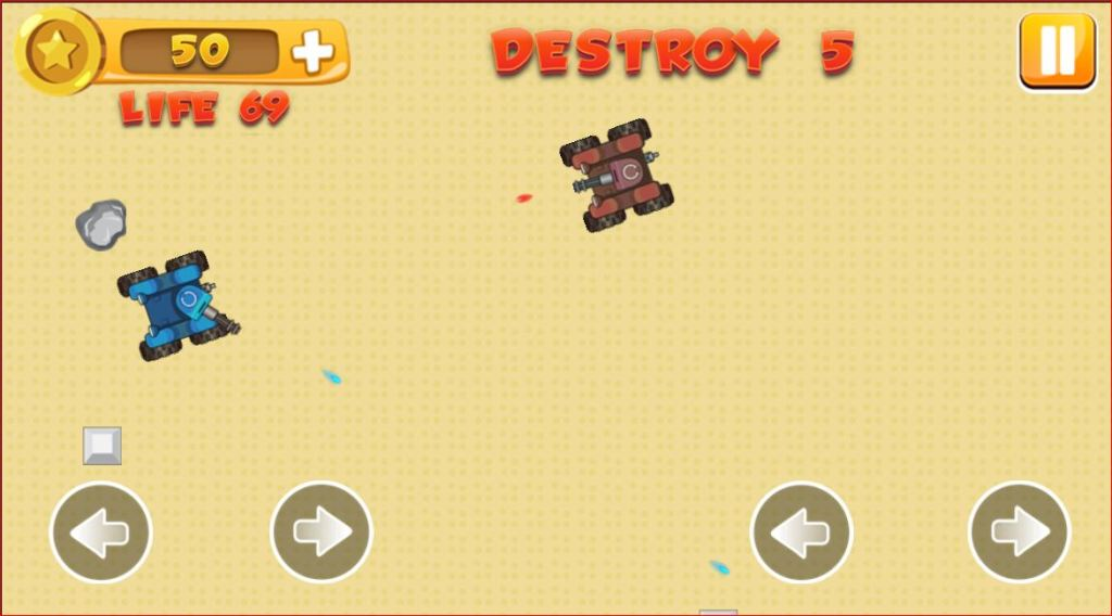 Military Tank Fighter Battle Game For Kids