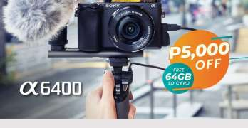 Sony A6400 - Summer Gadget Deals
