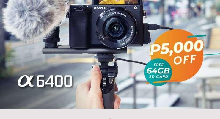 Sony A6400 - Summer Gadget Deals