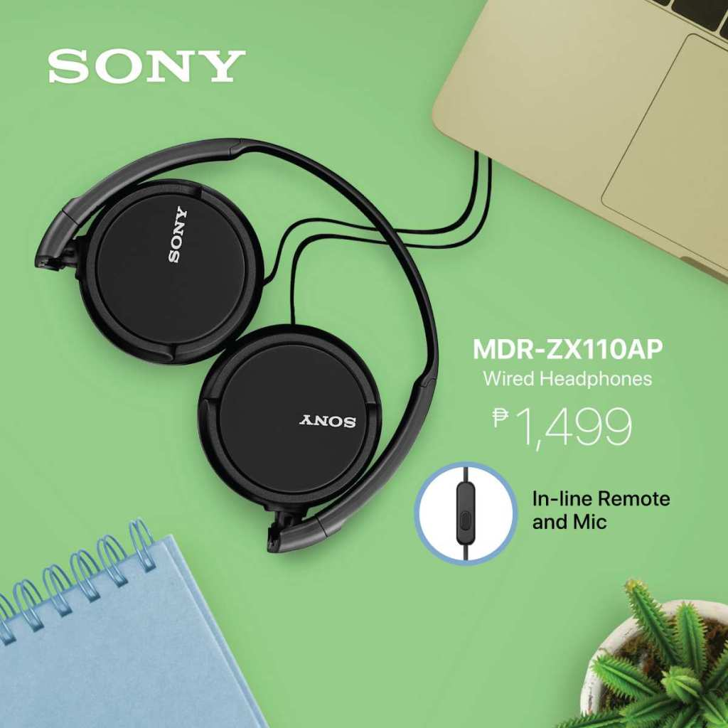 Sony MDR-ZX110AP Wired Headphones