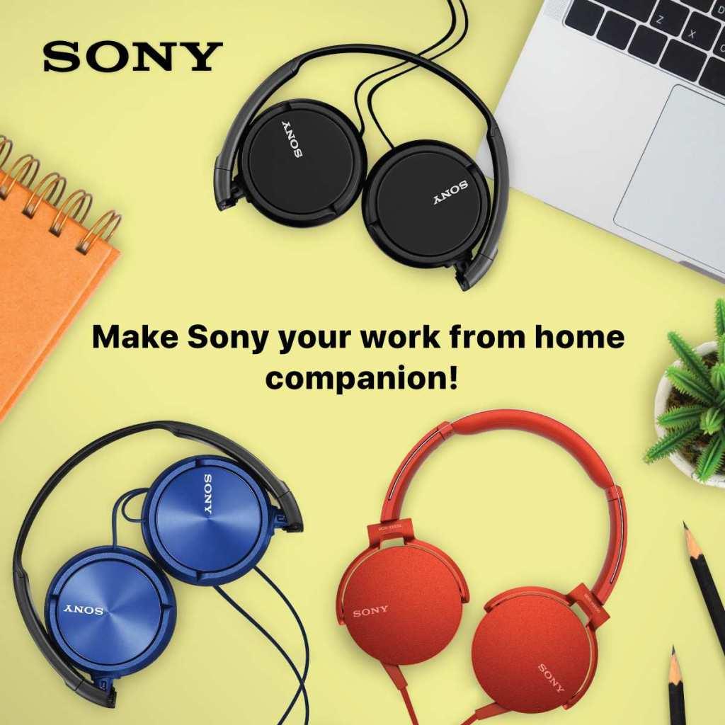 Sony Work and Study Home Essentials Headphones and Earphones