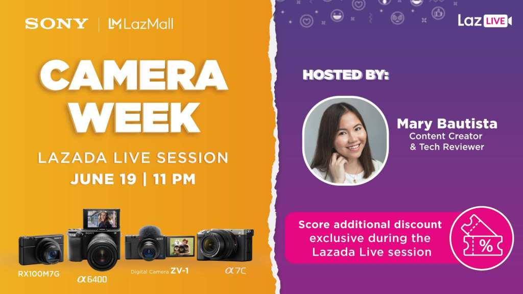 Lazada Camera Week Live Session