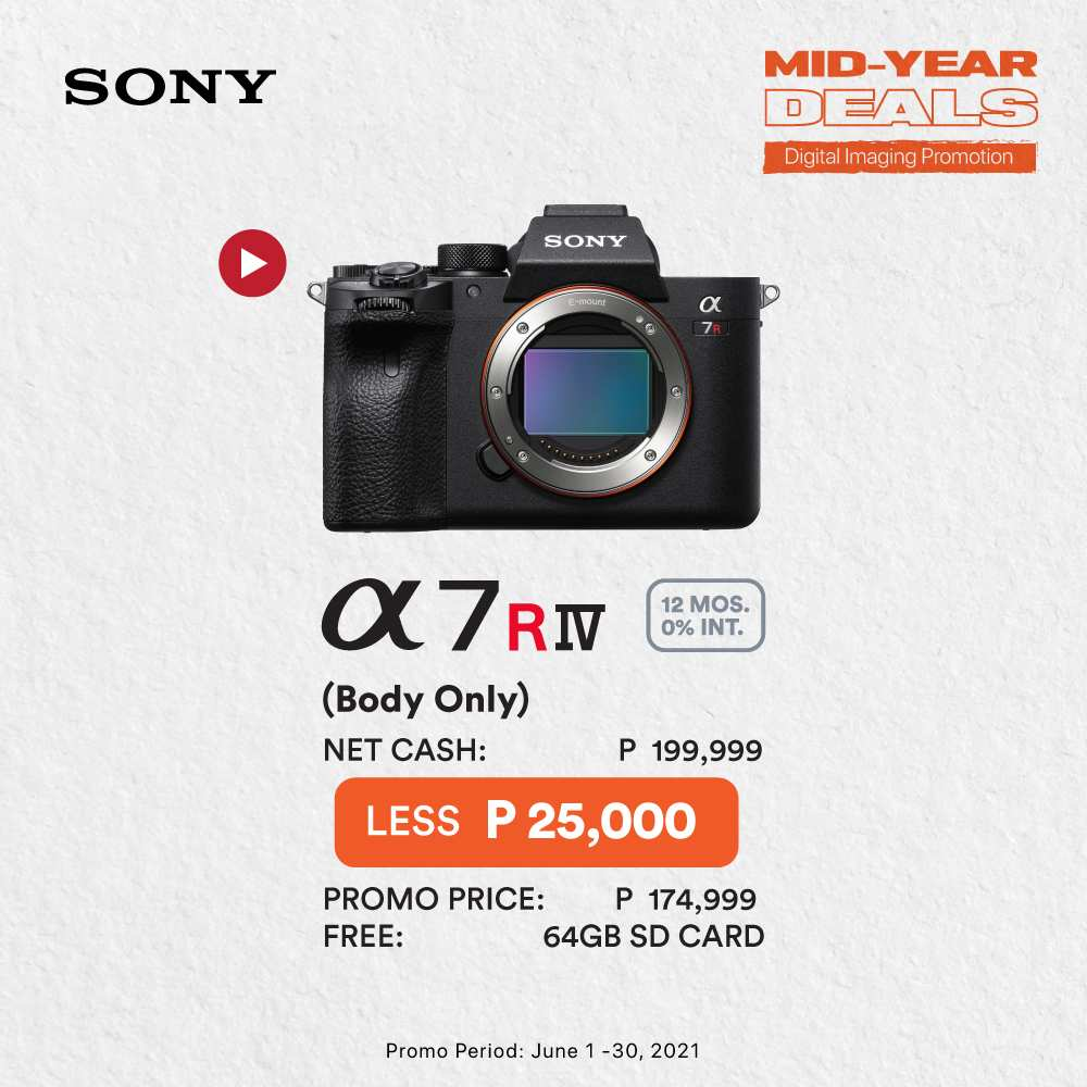 Sony Mid-Year Deals - Sony's A7RIV