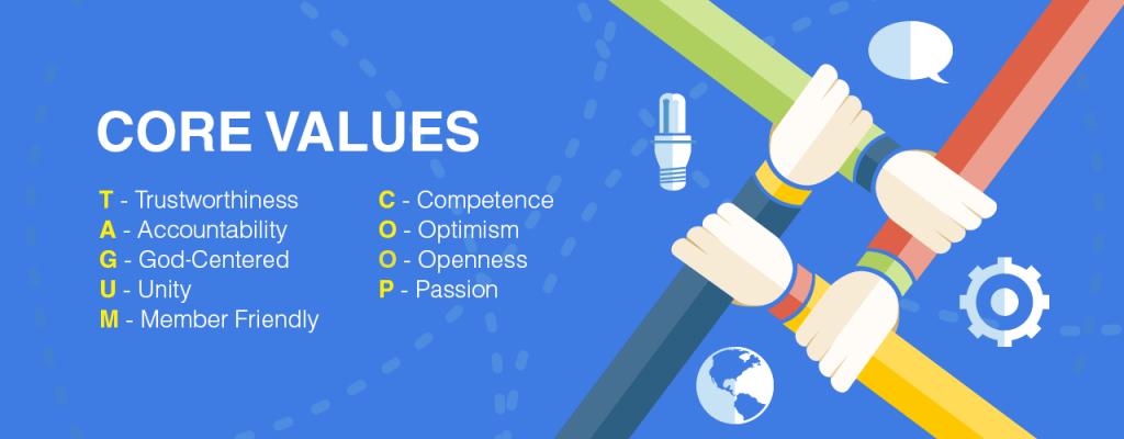 Tagum Coop Core Values