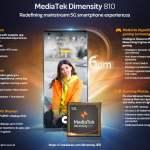 MediaTek Dimensity 810 - 920 5G